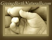 Giving Birth Naturally logo