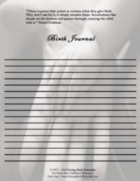 Birth Journal II