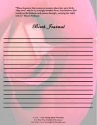 Birth Journal I