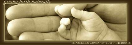 GivingBirthNaturally.com Natural Childbirth logo