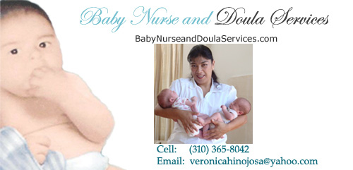 Baby Nurse and Doula Services - Veronica Hinojosa