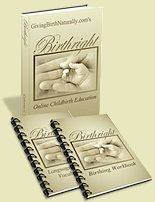 natural child birth education online