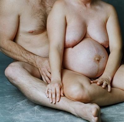 Sitting (nude)